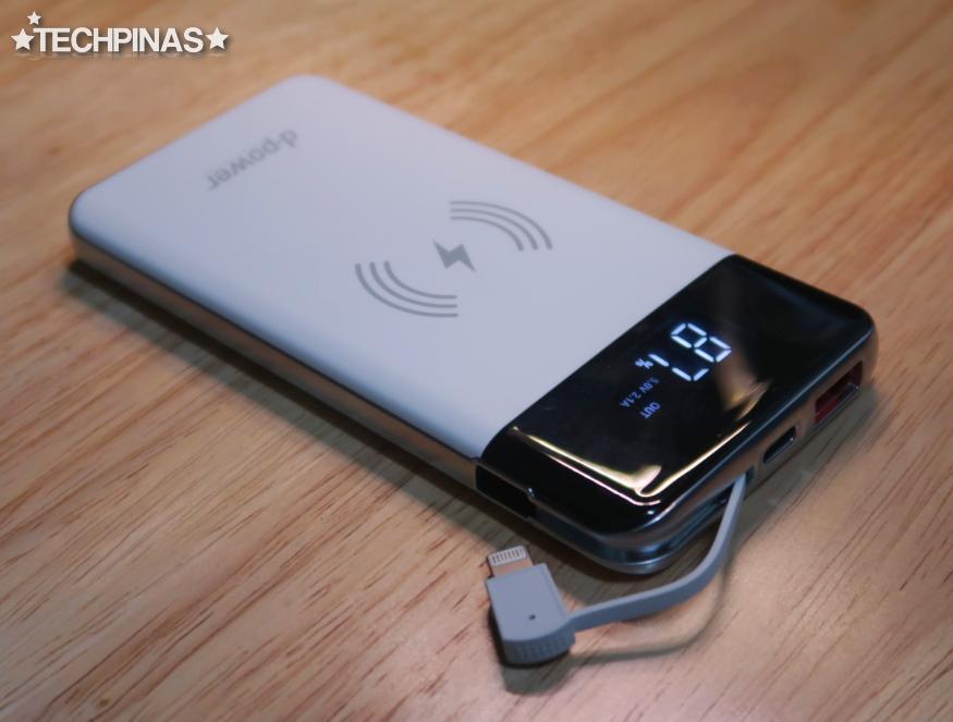 DPower Wireless Powerbank Charger