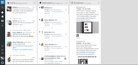 Tweetdeck Dashboard how to promote your blog posts
