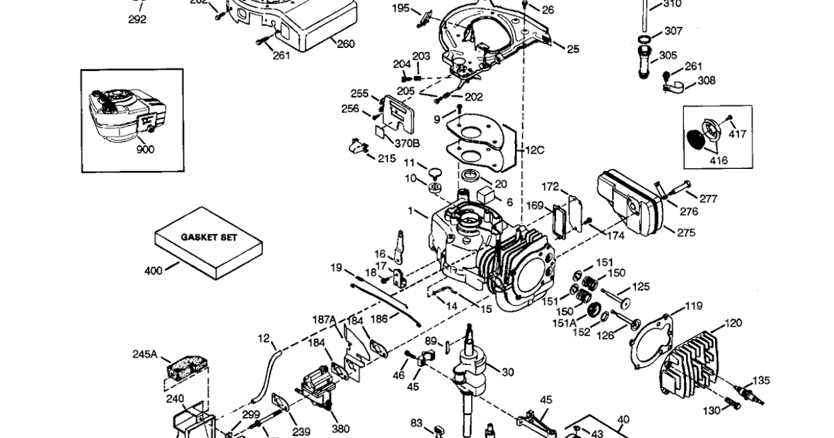 Free Service Repair Manual: Tecumseh engine parts diagram