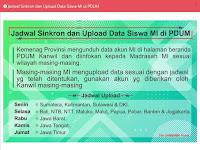 Akses Upload Data Siswa Di PDUM Tahun 2020