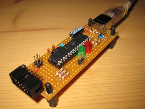 Simple Serial Avr Programmer Schematic