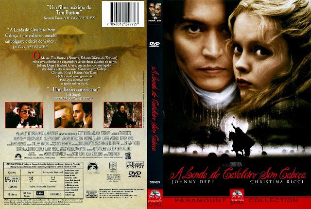 Capa DVD A Lenda do Cavaleiro Sem Cabeça