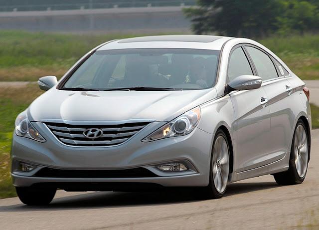 Hyundai convoca Sonata e Azera para recall