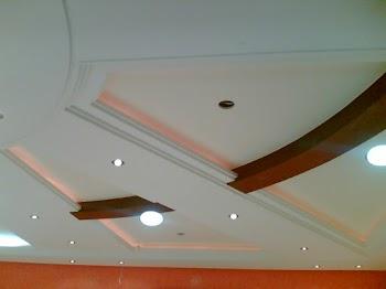 faux plafond platre moderne