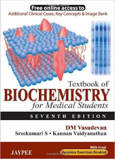Textbook of Biochemistry for Medical Students - 7th Edition - Vasudevan