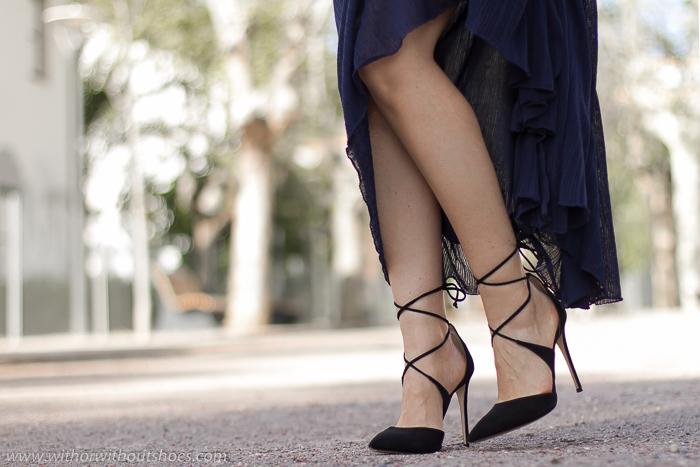 Blog adicta a los zapatos que zapatos sandalias Aquazzura Matilde utilizar en looks de fiesta boda