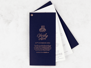 K'Mich Weddings- wedding planning - invitation - secret diary collections