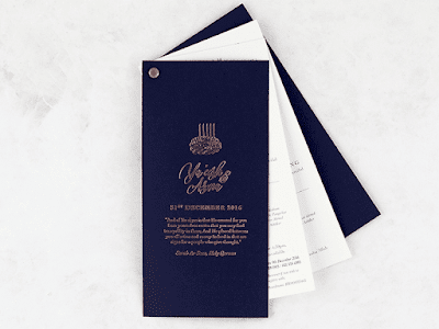 K'Mich Weddings - wedding planning - travel invitation - secret diary