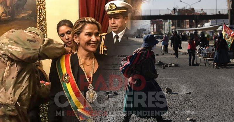 """Desgaste político, """"presidenta"""" prorrogandose 3 meses más, corrupción, victimizarse, culpar a terceros y pandemia, opacan fiesta patria de #Bolivia"""