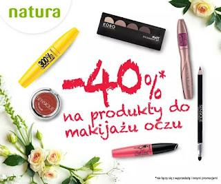 Tym razem promocja -40% na... makijaż oczu!