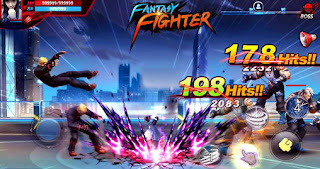 Screenshots of the Fantasy fighter for Android tablet, phone.