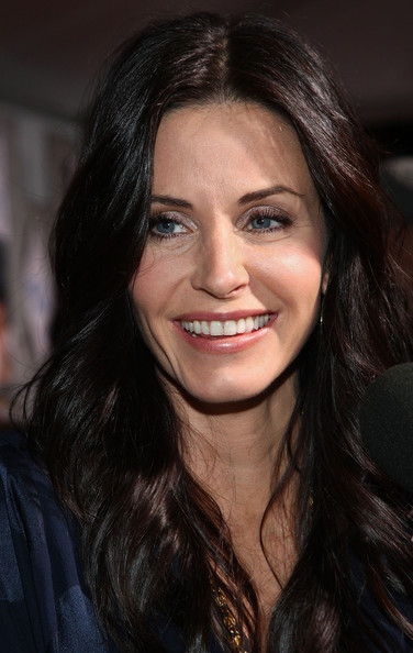 Courteney Cox Long Hairstyles Celebrity Hair Cuts