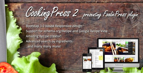 CookingPress  Recipe & Food