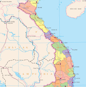 Provinces of Central Vietnam