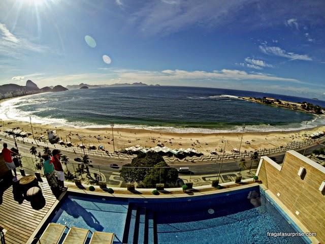 Terraço do Hotel Regente Copacabana, Rio de Janeiro
