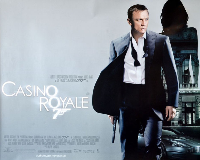 James Bond 007  Casino Royale 2006 Poster bei AllPostersde