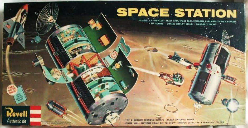 Philosophy of Science Portal: Vintage model kits...space oriented