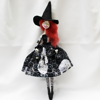 witch art doll