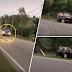 (Video) 'Buat kerja tak ikut S.O.P' - Dua buah kereta kemalangan angkara kontraktor tidak bertanggungjawab