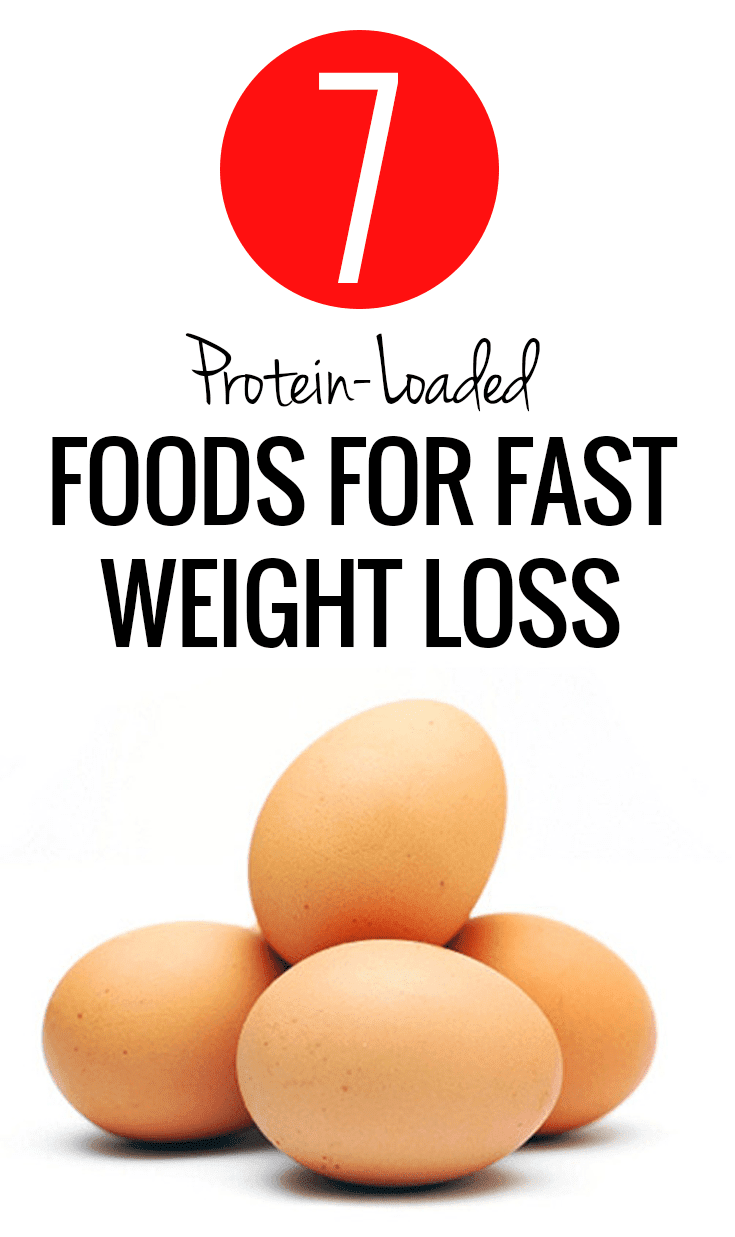 7 Protein-Loaded Foods For Weight Loss
