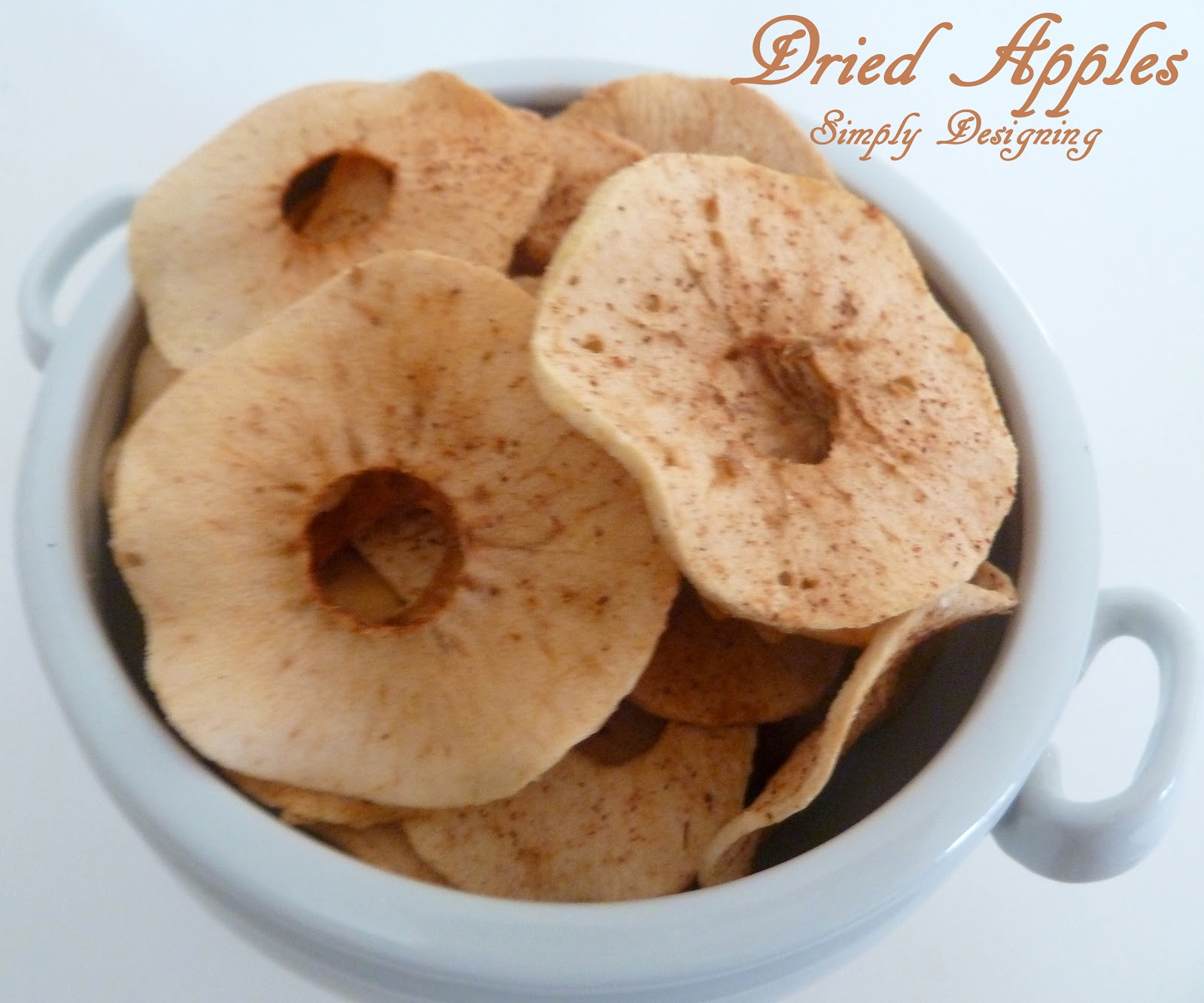 Gedroogde Appels Cinnamon Sugar Dried Apples
