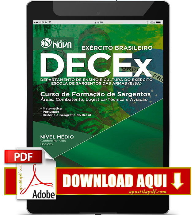 Apostila Esa 2016 PDF Download Sargento do Exército