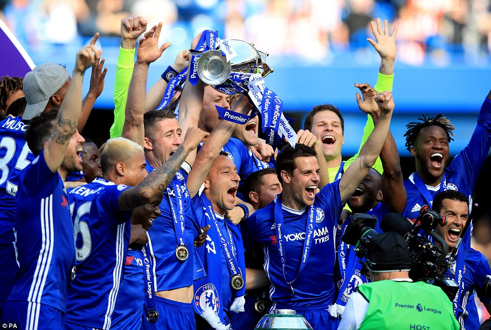 Chelsea FC Crowned 2016/2017 English Premier League Champions - photos