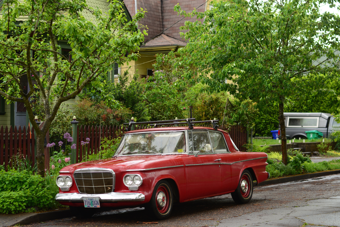 Old Parked Cars 1962 Studebaker Lark