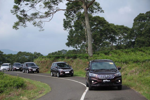 All New Ertiga Goes to Pagar Alam