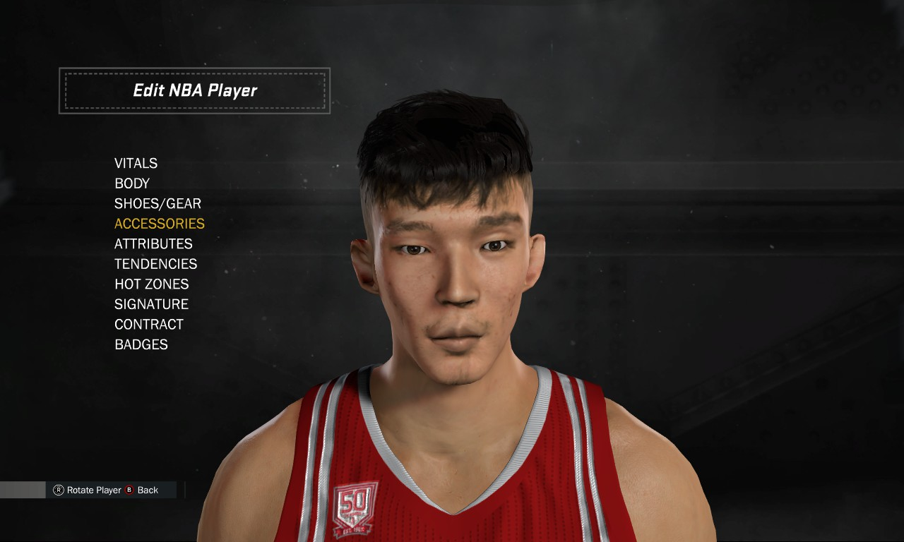NBA 2K17 Zhou Qi Cyberface and Portrait for DNA Ultimate ...