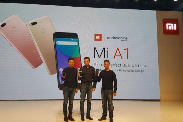 Xiaomi Mi A1 Resmi di Indonesia