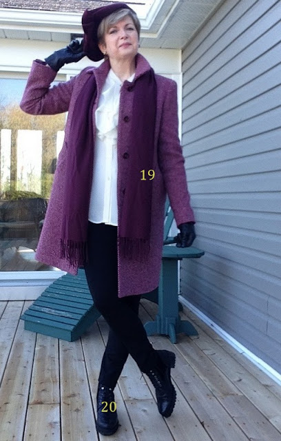 Found my perfect fall coat and boots.