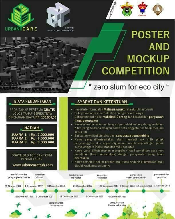 Lomba Poster & Mockup Competititon Tingkat Mahasiswa S1
