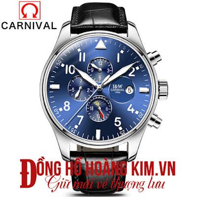Vì sao người đeo đồng hồ carnival thường rất thành công