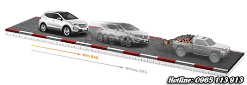 Dòng xe An toàn Hyundai SantaFe
