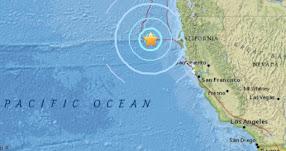 TERREMOTO EN CALIFORNIA: Sismo de magnitud 5.7 en Estados Unidos - EE.UU. (Hoy Viernes 22 Septiembre 2017) Temblor EPICENTRO Ferndale - Humboldt - Los Ángeles - USGS