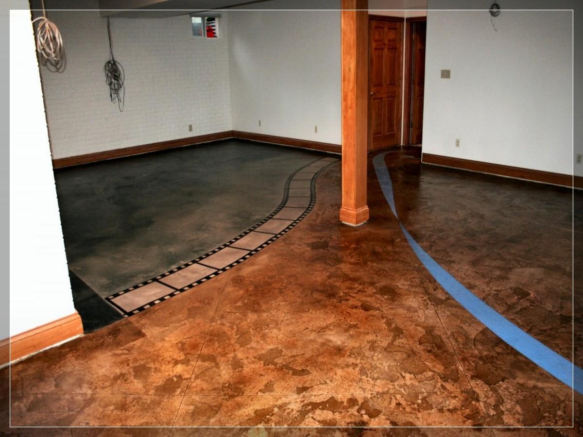 Alamande basement flooring design ideas - Antike schlafzimmermobel ...