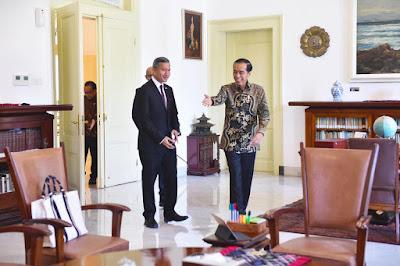 Diterima Presiden Jokowi, Menlu Singapura Sampaikan Keinginan Kerjasama Yang Lebih Kuat