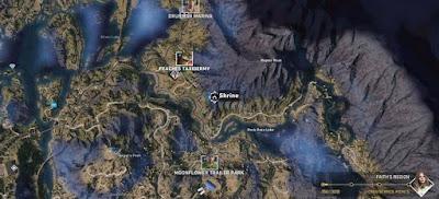 Far Cry 5, Shrines Locations, Faith's Region, Peaches Taxidermy, Shrine # 2