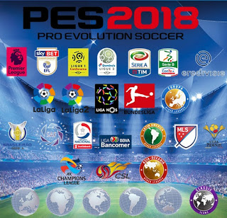 PES 2018 PS4 Option File Total Patch v10 Season 2018/2019 ~ PES-ID