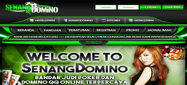 Senangdomino : agen situs judi online & poker online domino qq 99