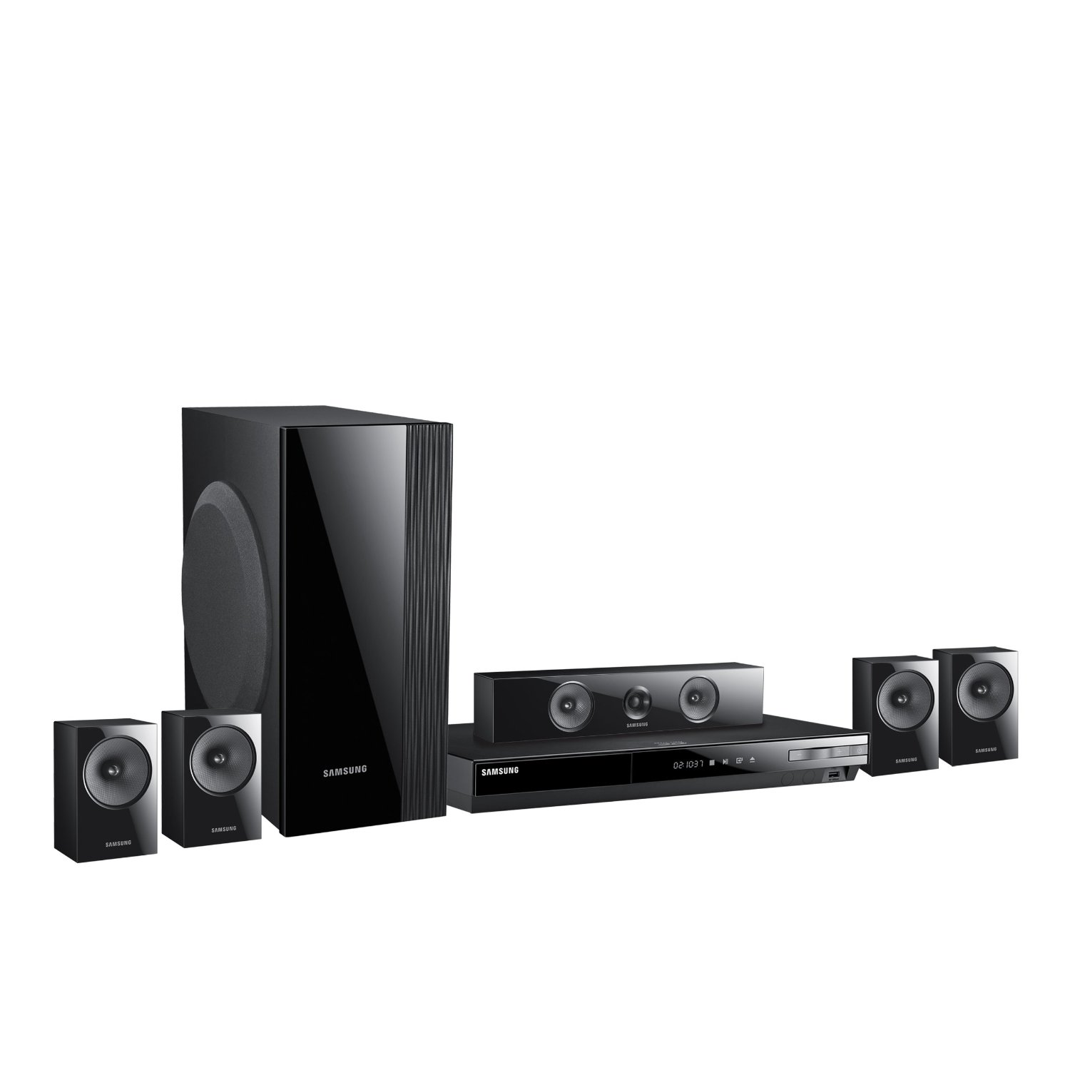 Samsung Ht E5400 51 Channel Smart 3d Blu Ray Home Theater System Bd F5100 Bluray Player