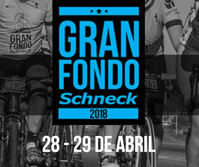 Ciclismo - Gran Fondo Schneck (Montevideo y Canelones, 28-29/abr/2018)