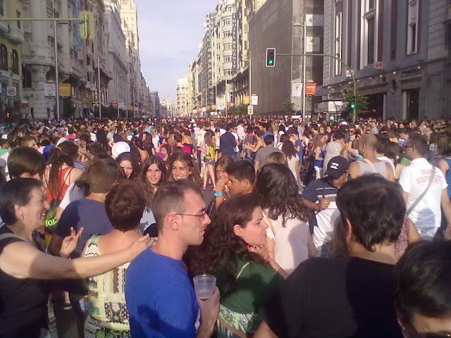 Fotos de la Cabalgata del Orgullo Gay de Madrid 2011