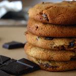 Sausainiai su šonine ir šokolado gabaliukais