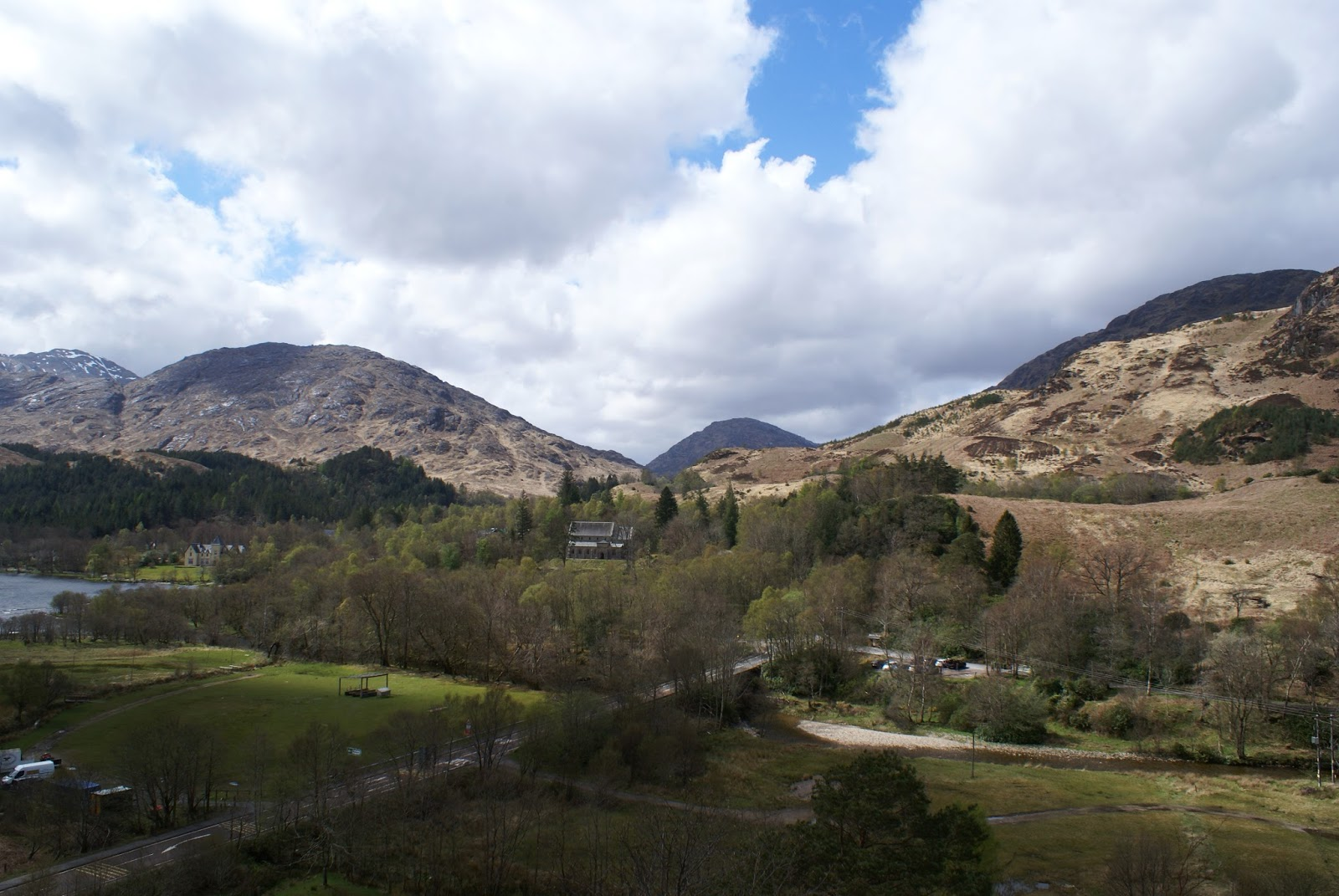 glenfinnan scotland uk highlands travel