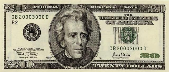 Tờ 20 USD Mỹ