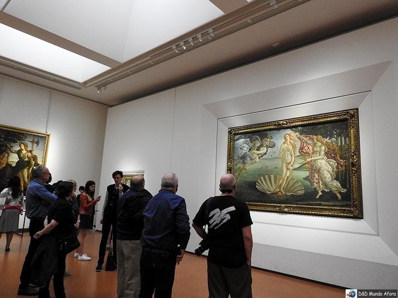 Galleria degli Uffizi - 25 melhores museus do mundo pelo Tripadvisor