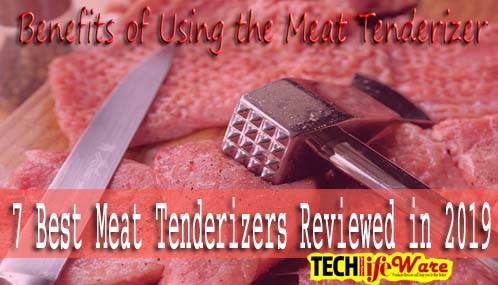 7 Best Meat Tenderizers Reviews in 2019 and Buying Guide