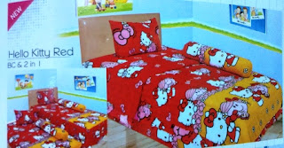 Lady rose disperse Hello kitty red